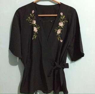 Zara kimono look a like