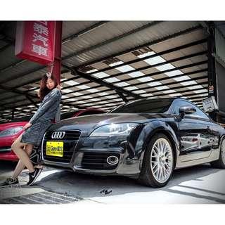 2010 Audi TT 深灰 2.0  一手女用好車