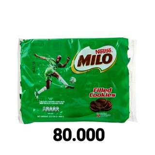 Milo fillet cookies