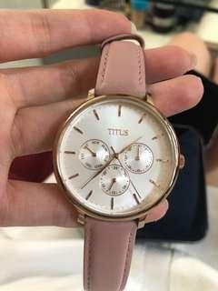 鐵達時 手錶 粉紅色