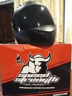 Speed and Strength Full Face Helmet