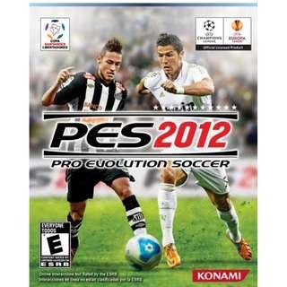 PES 2012 Pro Evolution Soccer Offline with DVD (PC)