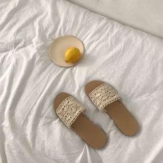 PO: Crochet Slip Ons