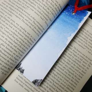 🚚 WaterColour Bookmark