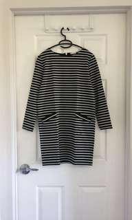 GU Stripe Shirt Dress_ *DEAL FOR 2*