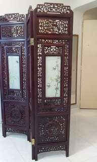 Solid Rosewood Screen