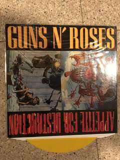 Guns N' Roses (appetite for destruction) vinyl