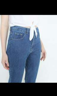 7/8 boyfriend jeans (pull and bear)