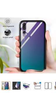 New Huawei P20 pro Magnetic Tempered Glass Back Case