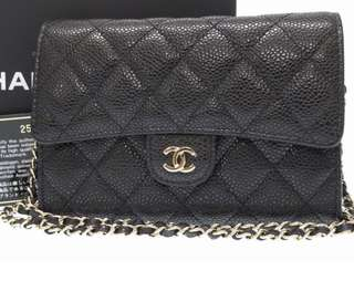 Chanel Wallet on chain (100%new and 25字頭)