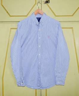 Authentic Ralph Lauren Custom Fit Striped Button Down