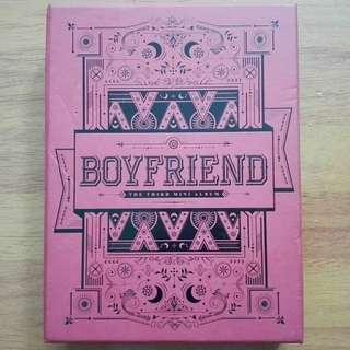 Boyfriend 3rd mini album witch
