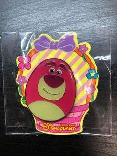 迪士尼 勞蘇 蛋 徽章 襟章 Disney pin Lotso