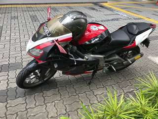 Used Aprilia well maintain if needs further details please pm or u can come and meet me at punggolCOE till may 2022
