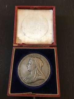 QUEEN VICTORIA 1897 Diamond Anniversary coins