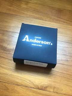 Anderson's Woven Suede Belt - 40 inch