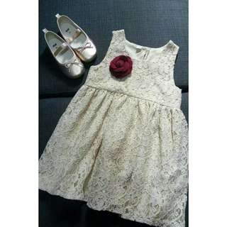 Sold as Set Dress and Shoes