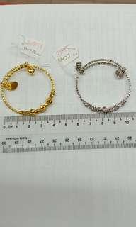 Baby Bracelet ( emas korea / silver)
