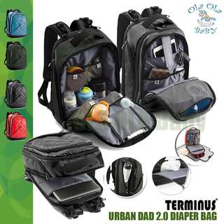 TERMINUS URBAN DAD 2.0 Diaper Bag (Genuine)