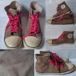 Preloved Converse High Brown uk 39