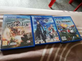 Ps Vita Games freedom war Kiwami sword art online