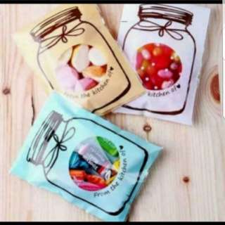 Self Adhesive Cookie Wrapper - Sweet Bottle