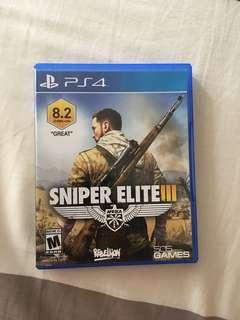 PS4 Sniper Elite