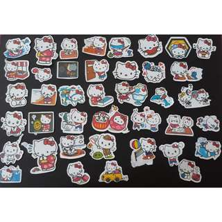Instock Hello Kitty Stickers (40 pieces)