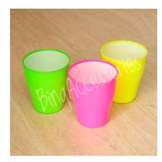 Gelas 2 warna ( mug cangkir cup food grade alat dapur