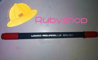 Miniso雙頭marker【橙紅色】