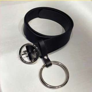 ring belt o leather
