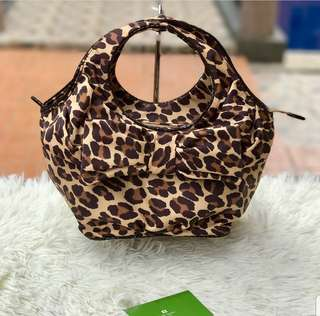 Kate Spade Safari Print Mini Handbag ❤️MARK DOWN SALE P5500 ONLY In excellent condition Swipe for detailed pics