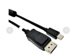 ATZ Mini DisplayPort 1.2 to DisplayPort 4K (2M)