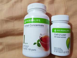 🚚 Herbalife (Concentrate Tea + Cell-U-Loss)