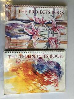 Reader's Digest Watercolor Pencil Instructional Techniques and Projects Flip Books