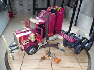Vintage toy. M.A.S.K. truck. RHINO
