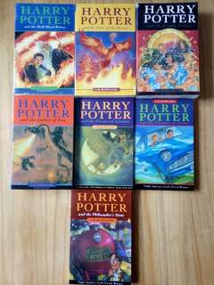🚚 HARRY POTTER SERIES BOOKS (1 TO 7) FREE HARRY POTTER AND THE CURSED CHILD NOVEL (FREE DELIVERY)