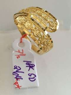 Pawnable saudi gold ring