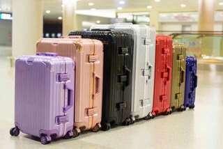 鋁權行李箱