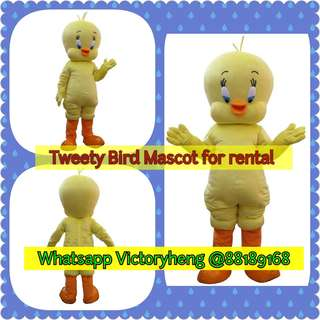Tweety Bird Mascot for rental