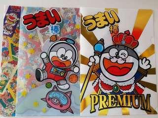 Doraemon plastic folder