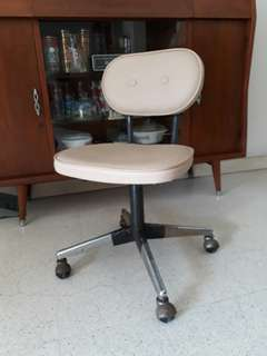 vintage typist swivel chair