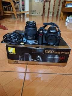 Nikon D60 18-55 VR Kit