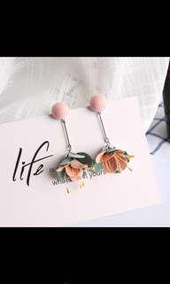 Pastel Flower Earrings