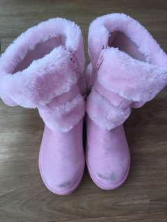 Pitter Pat Pink Boots