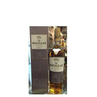The Macallan Fine Oak 17 Years Old Single Malt Scotch Whisky