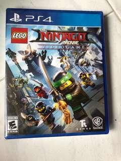 PS4 Lego Ninjago the movie