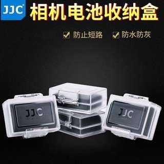 🚚 【Q夫妻】 JJC 防水 防塵 電池盒 收納盒 相機電池收納盒 (裸裝) D4