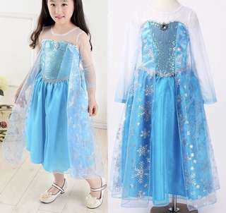Frozen Elsa costume dress