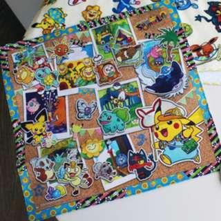 [PO] Pokemon Center Exclusive Handkerchief Summer Life